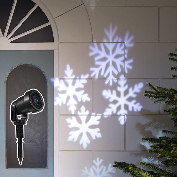 Snowflake Christmas Light Projector Christmas Lights Outside