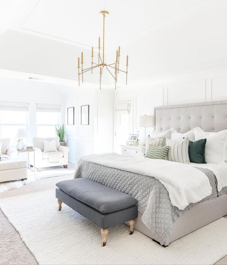 Open And Airy Bedroom Our Room Pinterest Airy