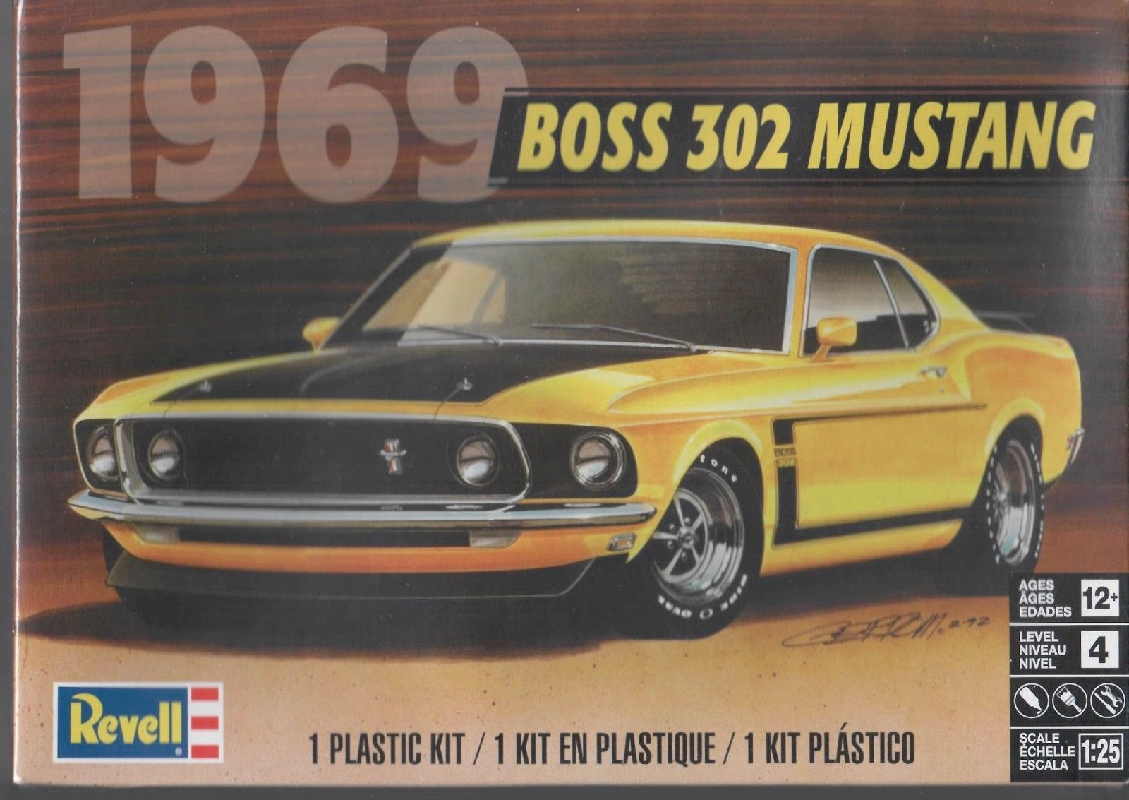 Other Automotive Models And Kits 1190 Revell 4313 1969 Ford