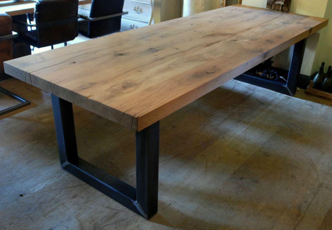 landelijke sidetable marktplaats : Fantastische Eettafel Interior Pinterest Steel Furniture