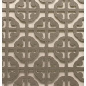 M D Building Products 1 Ft X 2 Ft Satin Nickel Mosaic Aluminum Sheet 57005 Aluminium Sheet Ceiling Decor Perforated Metal Panel