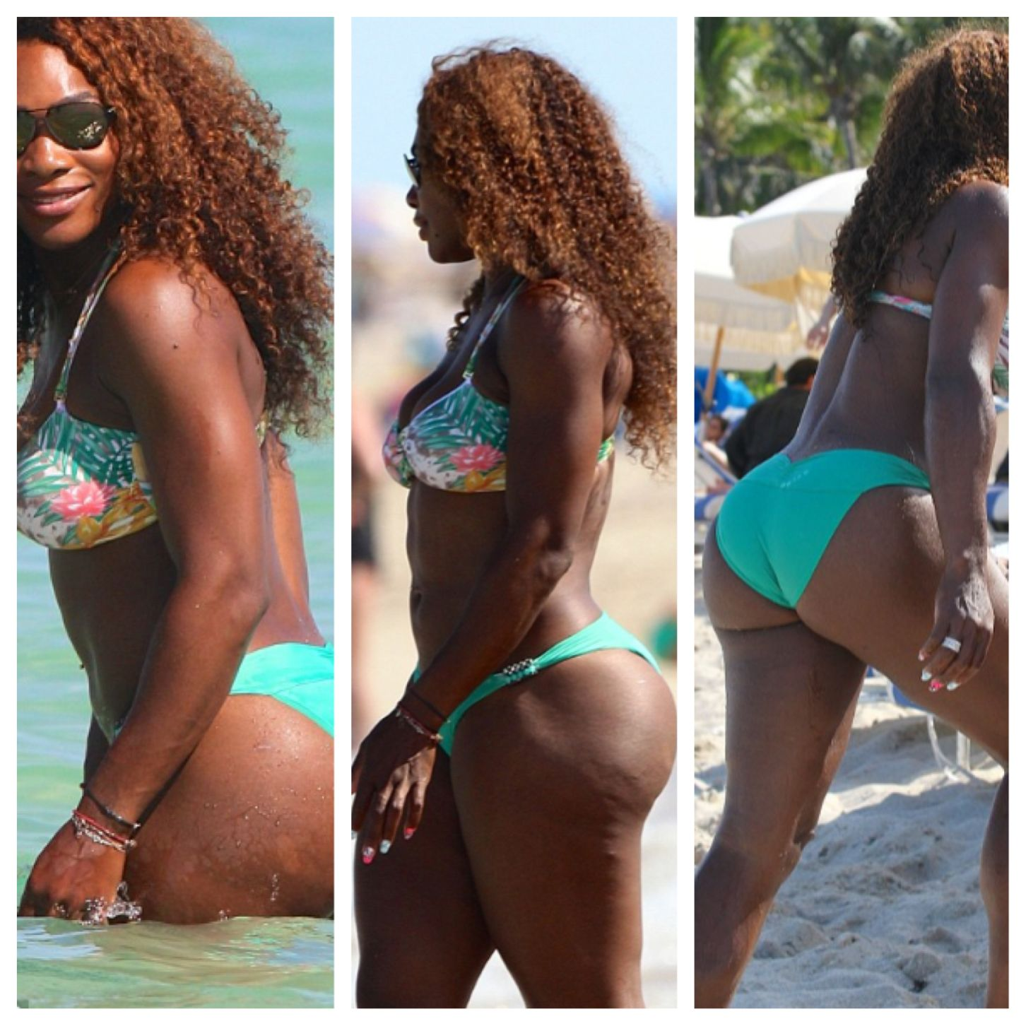 """booty call"""" article serena williams is known for her athletic body"""