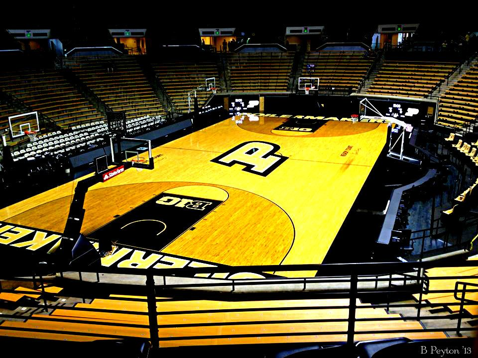 Basketball Court at Purdue University West Lafayette, IN