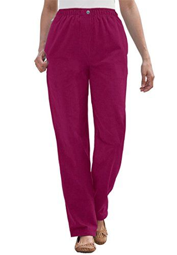 dec6ed81ce Bargain Catalog Outlet Woman Within Plus Size Petite Corduroy Comfort Waist  Pants