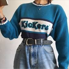 99b9e1ee657 aesthetic babe girl with trendy depop outfit girl uwu mom jeans ...
