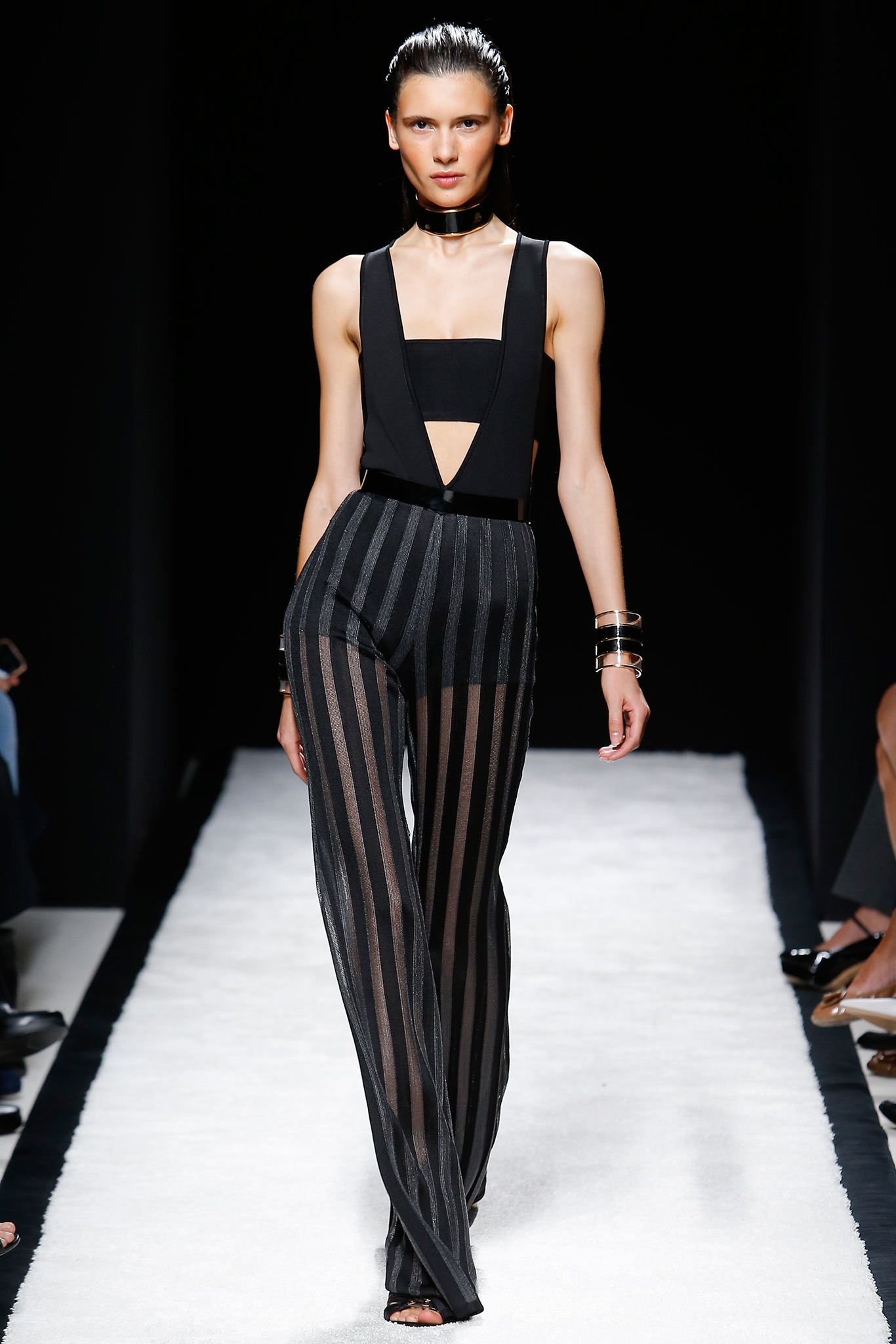 fbc01c9a Balmain Spring 2015 Ready-to-Wear - Collection - Gallery - Look 1 -  Style.com