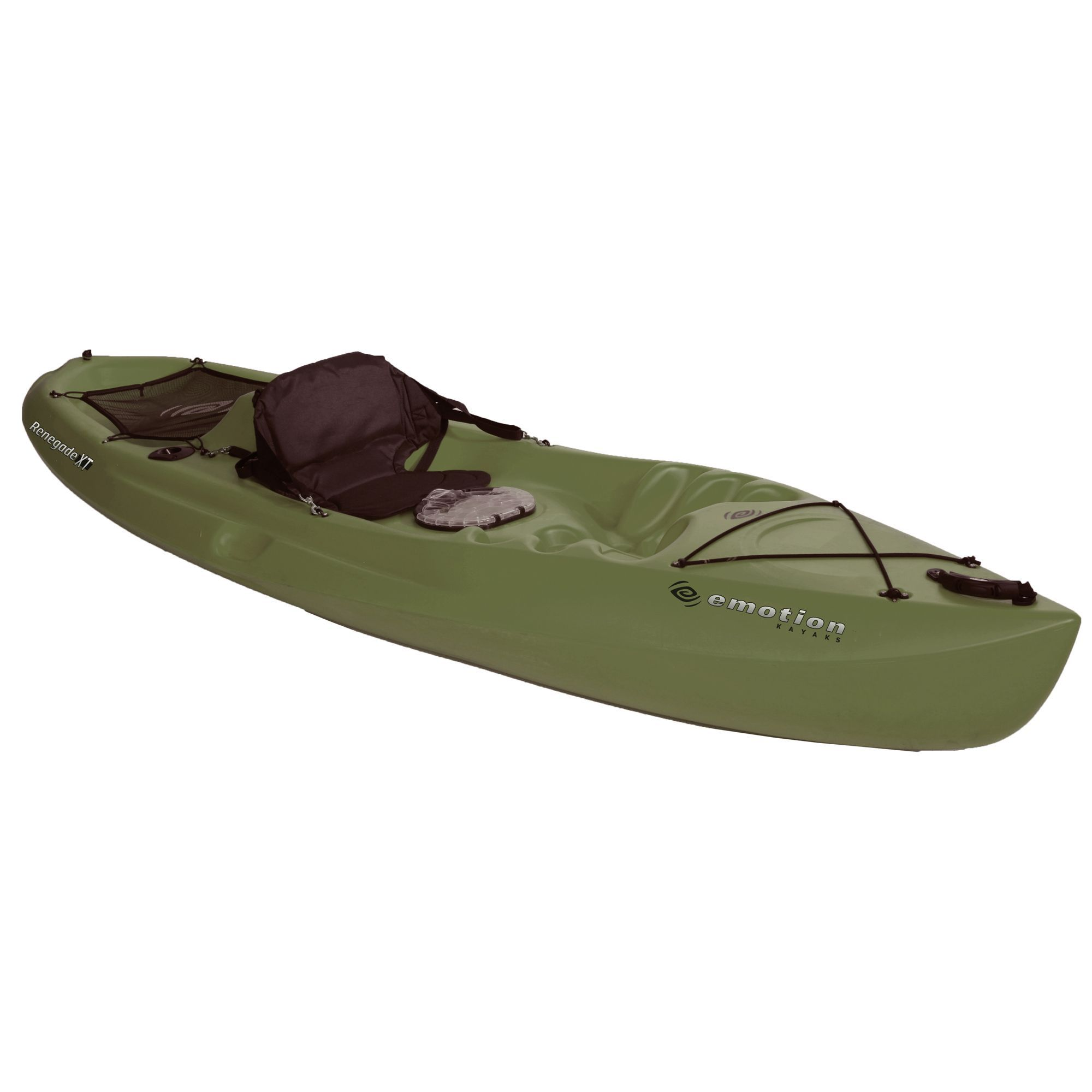 Emotion Renegade XT Kayak (Olive Green), Lifetime