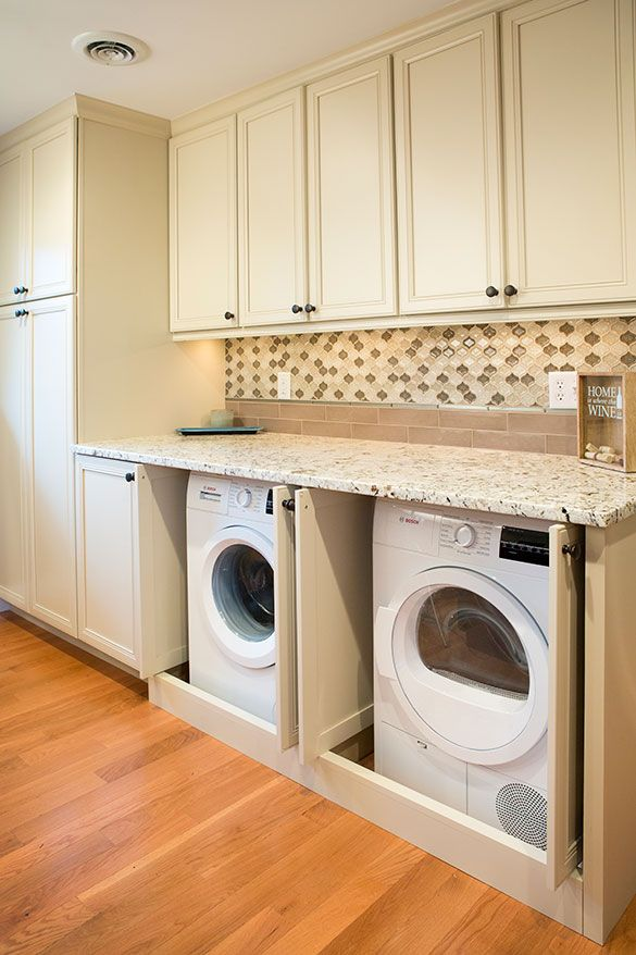 St Louis Kitchen Remodel With Laundry With Images Laundry In