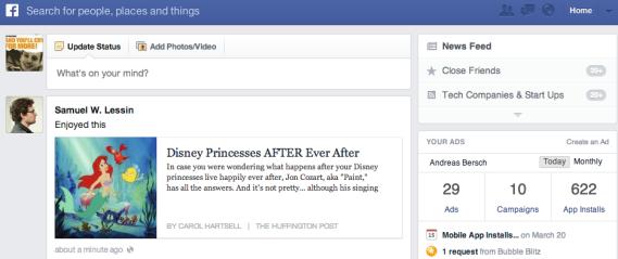 Facebook Following Feed: Eine Chance für Marken?