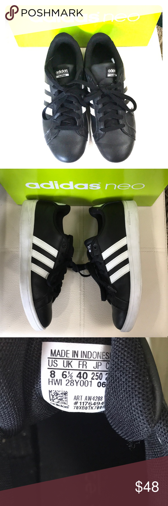 adidas neo size 8