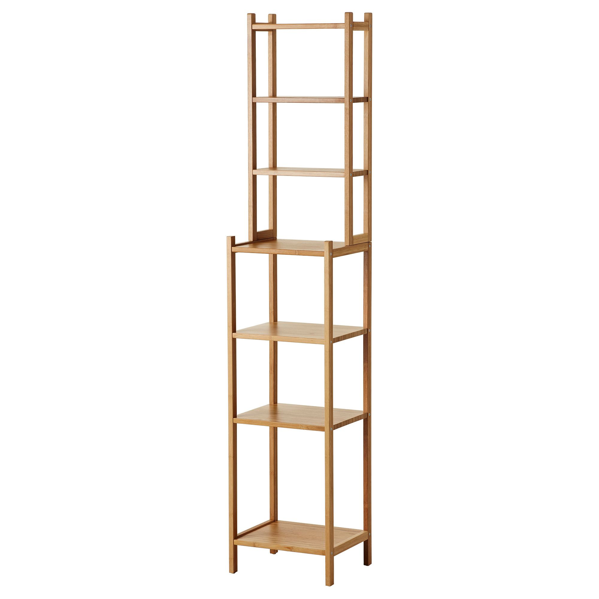 IKEA   RÅGRUND, Shelving Unit,   Perfect In A Small Bathroom.Bamboo Is A  Hardwearing Natural Material.