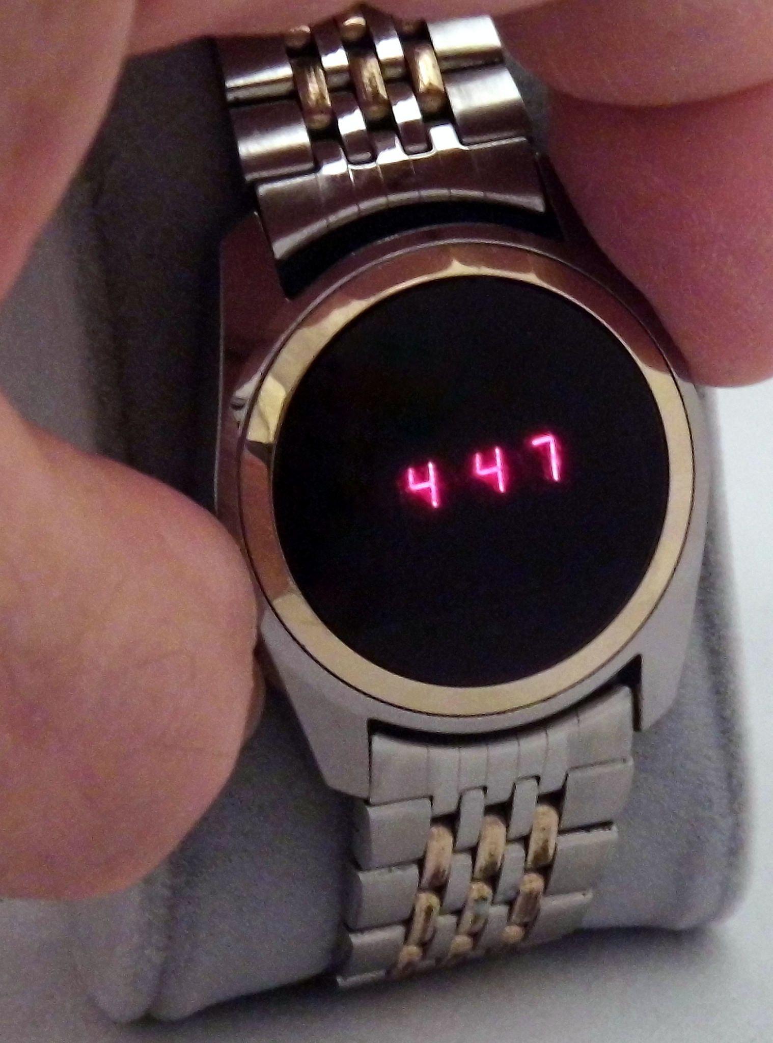 Vintage Texas Instruments Men s Electronic Digital Watch a34eb11a94