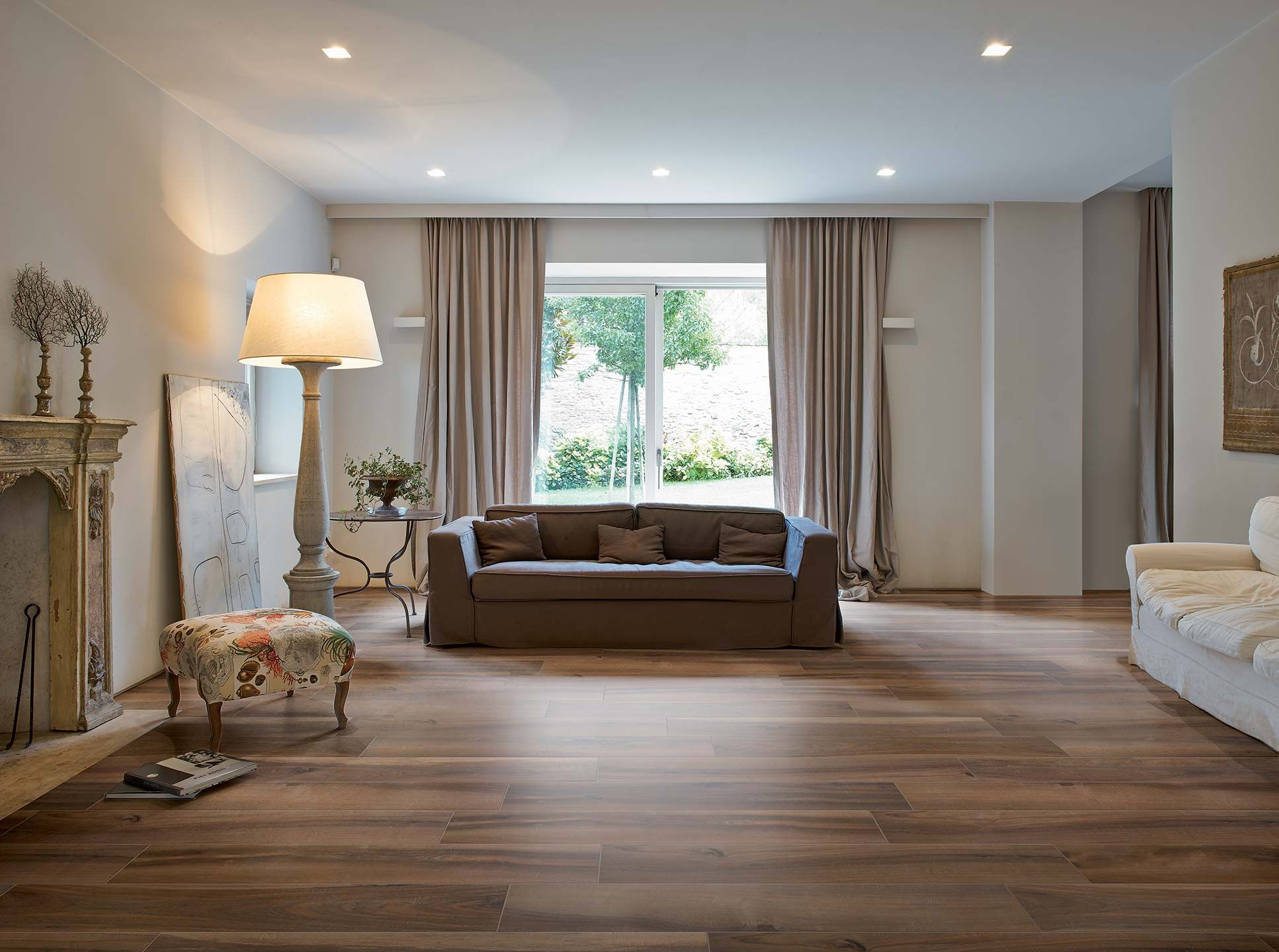 Stained wood florim usa jrlapok pinterest woods sita tile for a rustic living room with a wood look tile planks and trend wood look ceramic tile by arley wholesale albany tile carpet rug dailygadgetfo Choice Image