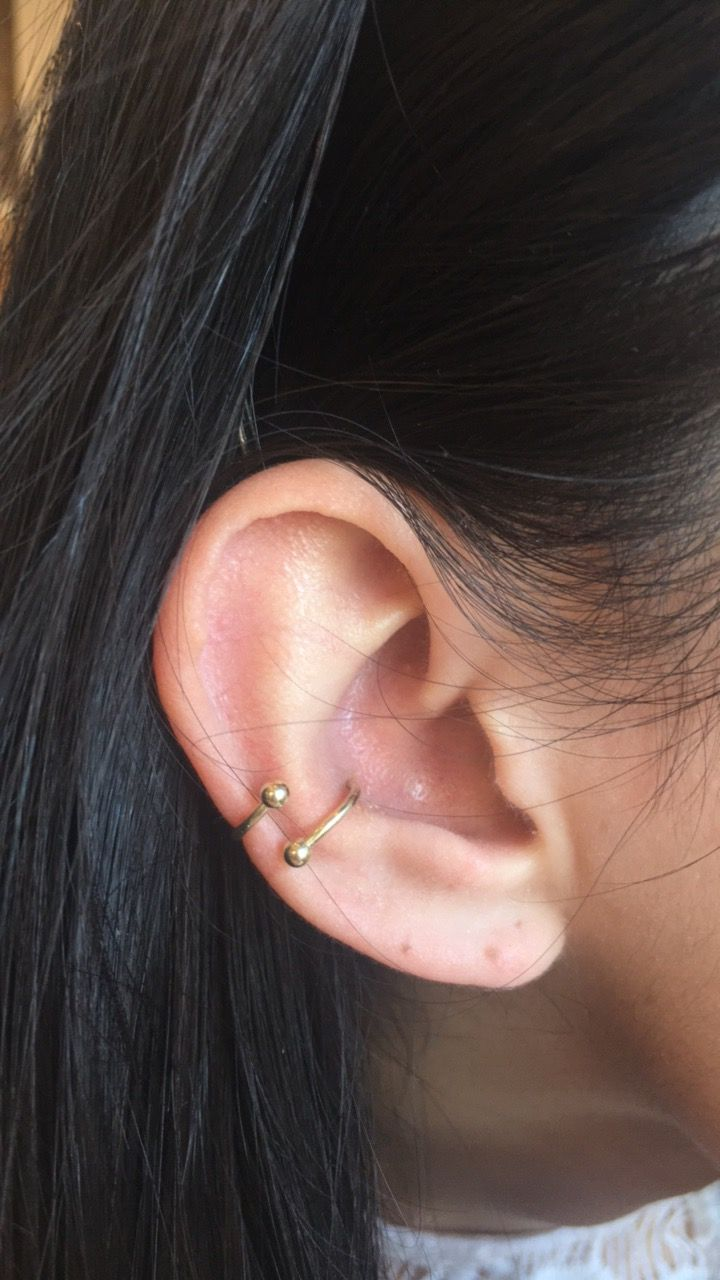 Nose piercing cover up  piercing conch   Piercings  Pinterest  Piercings Tuesday and
