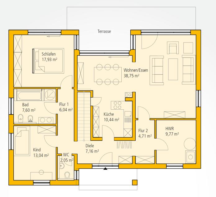 grundriss eg grundrisse pinterest grundrisse grundriss bungalow und hausbau. Black Bedroom Furniture Sets. Home Design Ideas