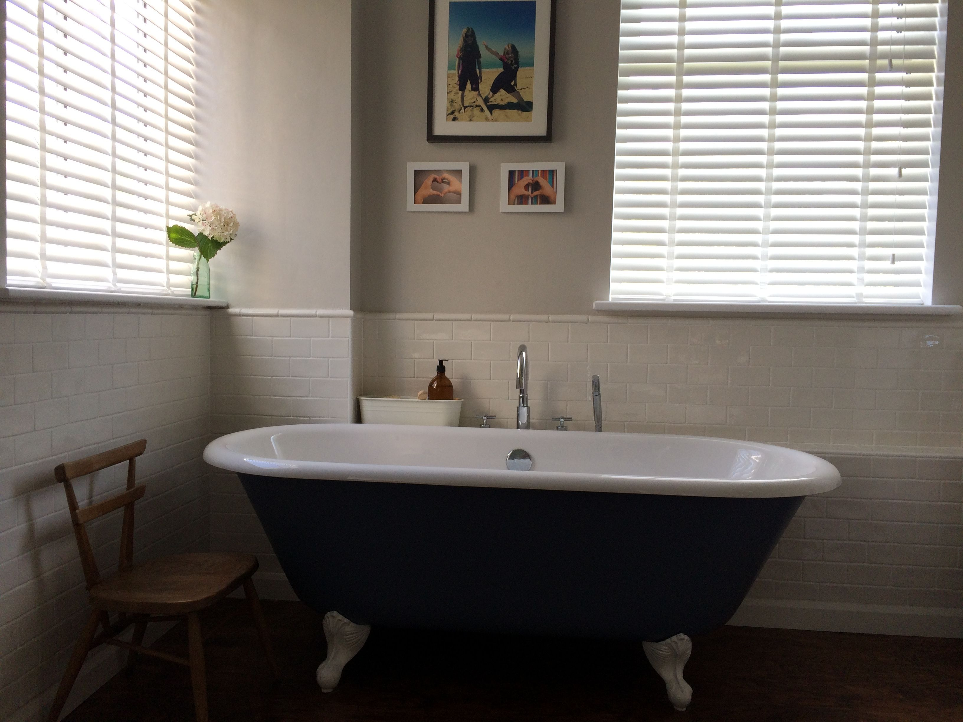 Deluxe Puritan Wooden Blinds Are A Great Way To Finish Off