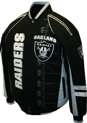 Oakland Raiders Nike Destroyer Reversible jacket | #964787940