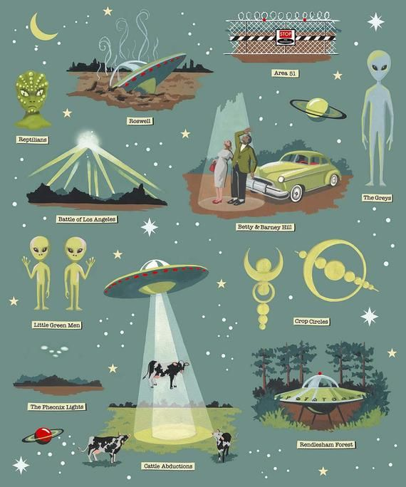 Photo of UFO cards Flying Saucer Notecards Classic Sci-Fi Retro   Etsy