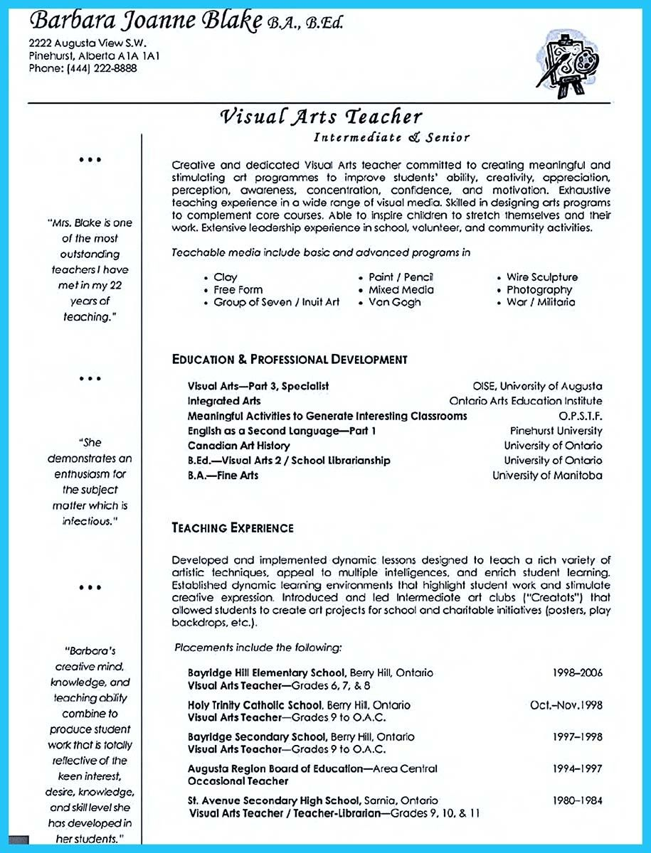 Awesome Artist Resume Template That Look ProfessionalHttp