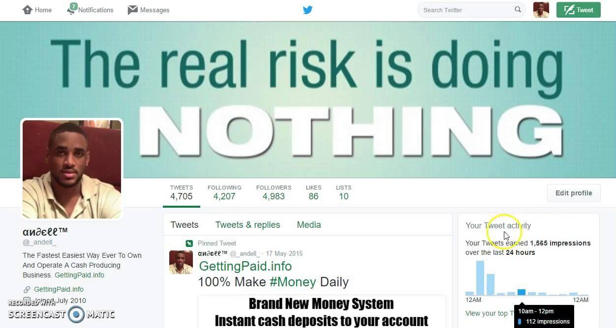 Social Media Marketing Intro - Andell Ollivierre