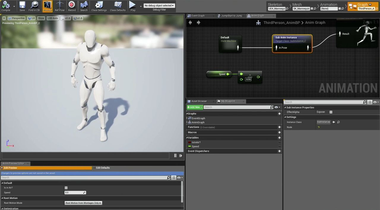 Unreal Engine 4 Animation Features | CGMeetup net | Unreal