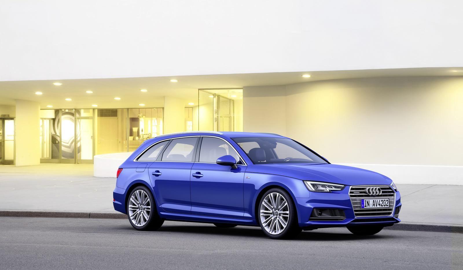 2016 Audi A4 Avant officially unveiled
