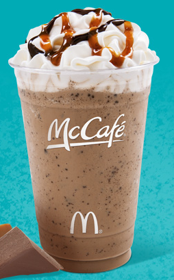 5th dimensional frappe, I swear it exists at Starbucks too