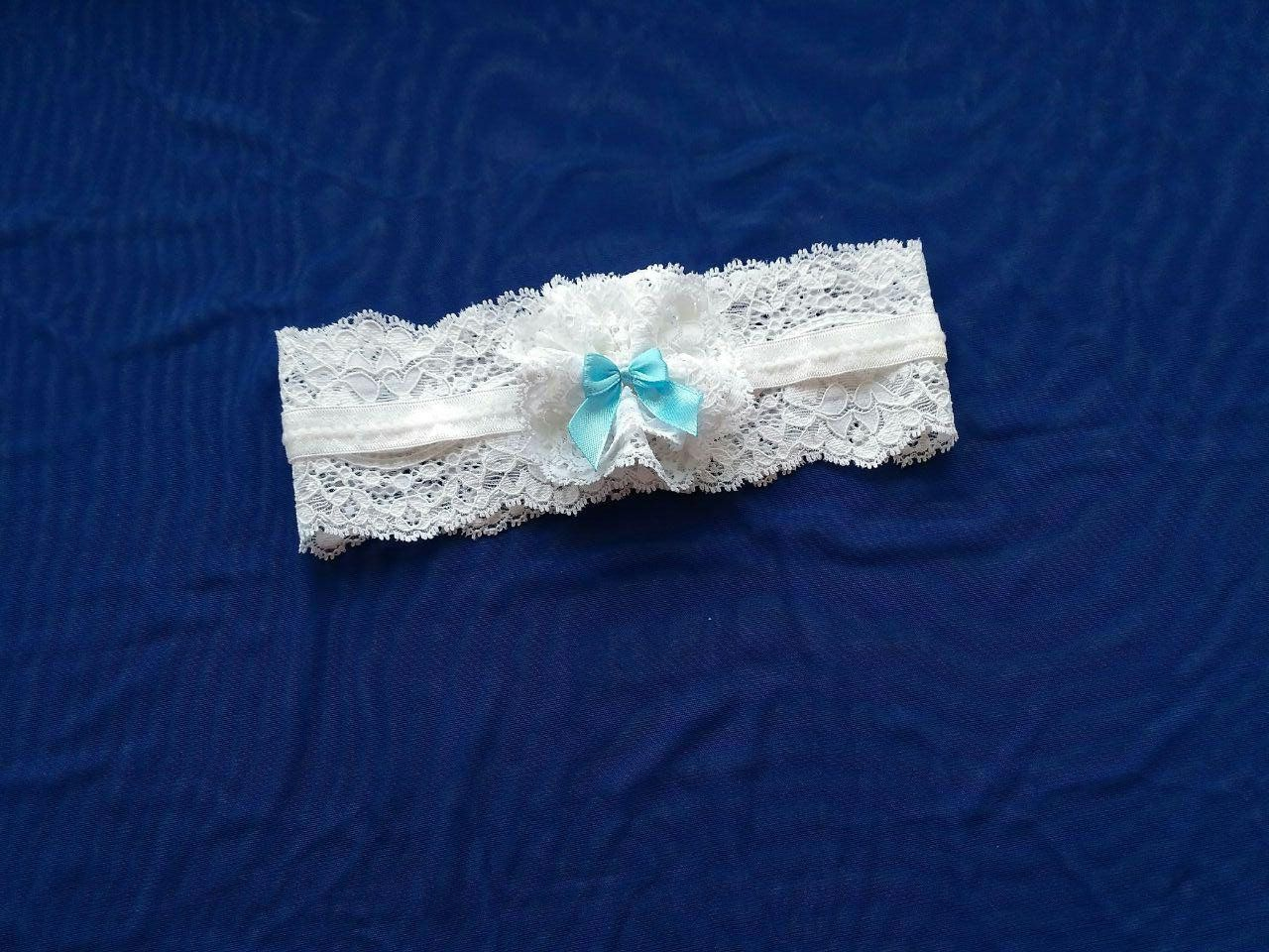 55d02d63e  Cute  white  lace  winter  wedding  garter  belt with  satin bow  Simple   plain  bridal  thigh  garter  Beautiful  handmade  floral  accessories    ...