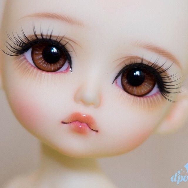 Bjd Faceup Lati Cute Girl Hd Wallpaper Doll Painting Art Dolls