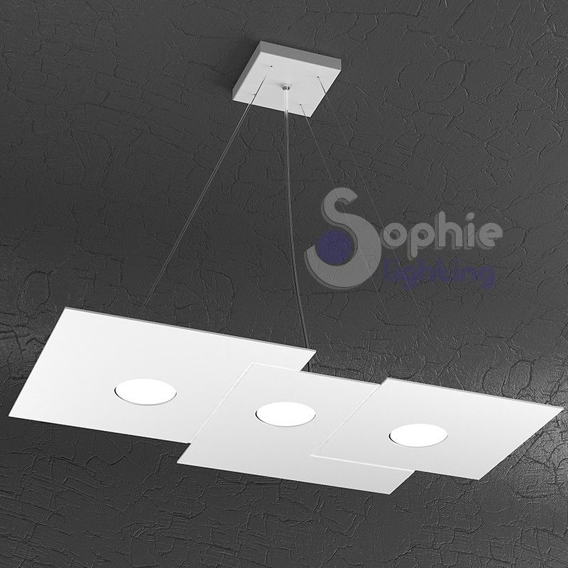 Gallery Of Lampadario Sospensione Led Design Moderno Cucina