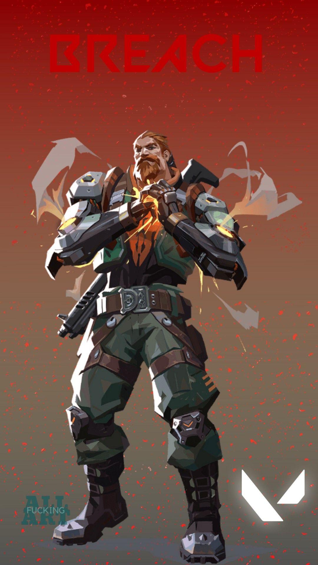 Breach em 2020 Personagens de anime, Wallpaper, Anime