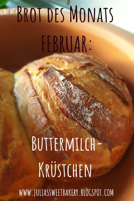 Buttermilch Krüstchen- Brot des Monats