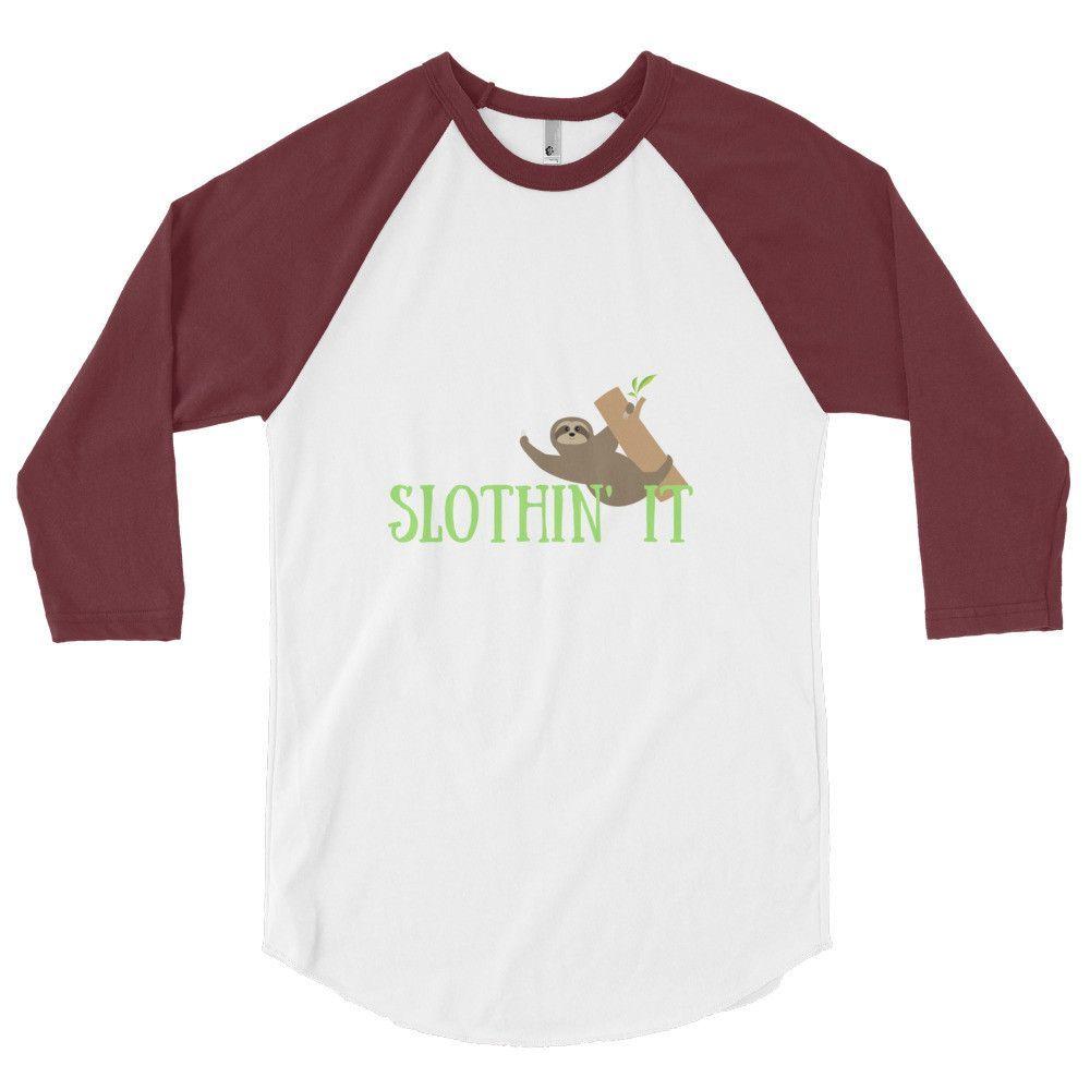 Slothin' It - Raglan Top