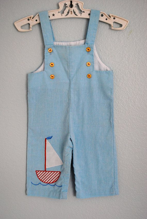 so sweet vintage boy's overalls