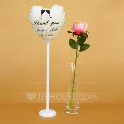 """Personalized Favors - $4.69 - Personalized """"Thank You"""" PVC Wedding Balloon (131038197) http://jjshouse.com/Personalized-Thank-You-Pvc-Wedding-Balloon-131038197-g38197"""