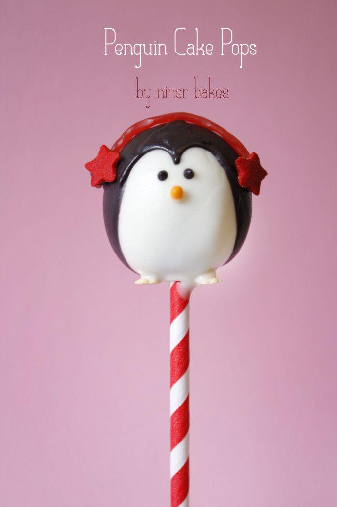 Weihnachts Cake Pops Pinguine Schneem 228 Nner Santa
