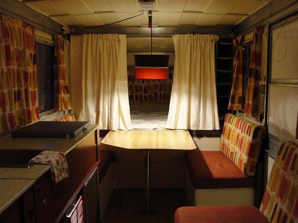 Best 167+ Very Good Idea For You Retro Camper Interior