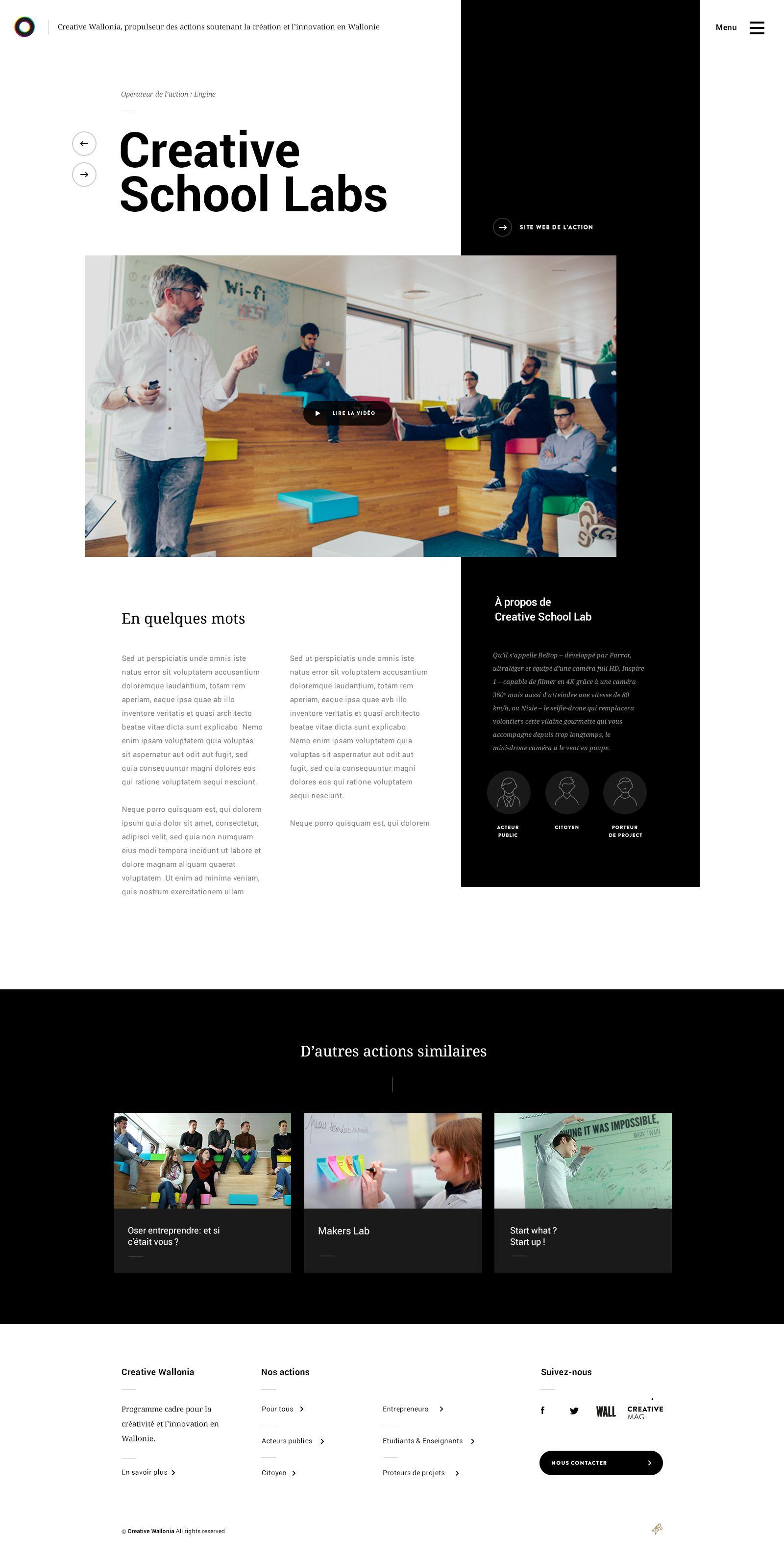 Crw Full Product Page By Dogstudio News Web Design Minimal Web Design Web Design