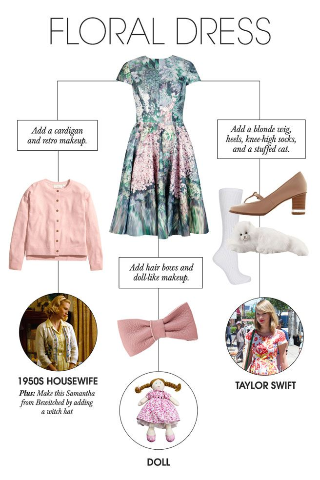 Last,Minute Halloween Costumes , 24 Chic Costumes You Can Make With Clothes  Already in Your Closet