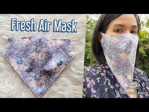 Photo of DIY Breathable Face Mask Nr.1/ Summer Face Mask/Fresh Air Mask/ Maske nähen/coudre un masque
