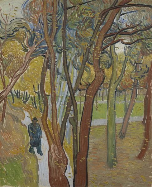 The Garden of Saint Paul's Hospital ('Leaf-Fall'), 1889, Vincent van Gogh, Van Gogh Museum, Amsterdam (Vincent van Gogh Foundation)