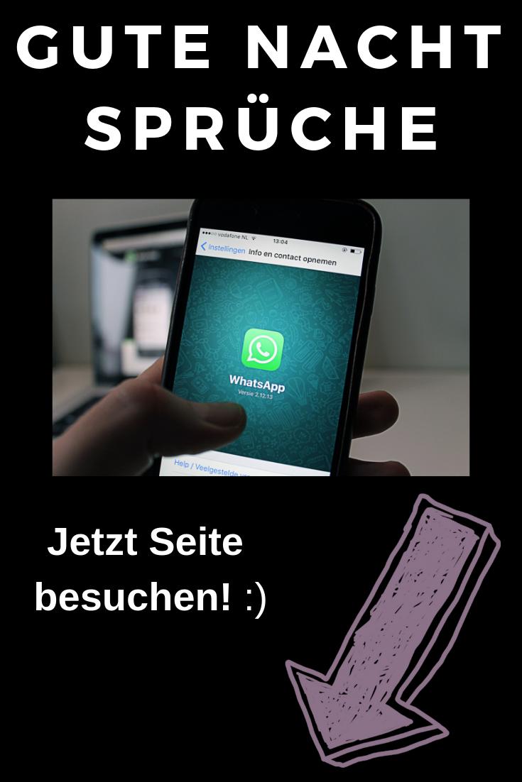 Die Coolsten Gute Nacht Sprüche Für Deinen Whatsapp Status