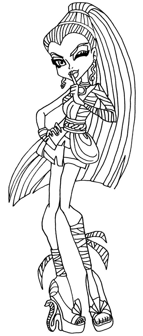 Pet Secret Nefera by elfkena on deviantart - a coloring page of ...