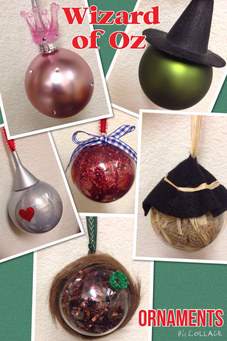 My Handmade Wizard Of Oz Ornaments Wizard Of Oz Gifts