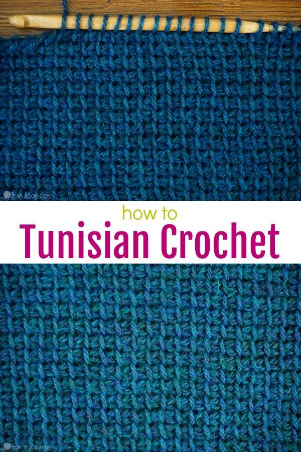 How to Tunisian Simple Crochet : Video Tutorial