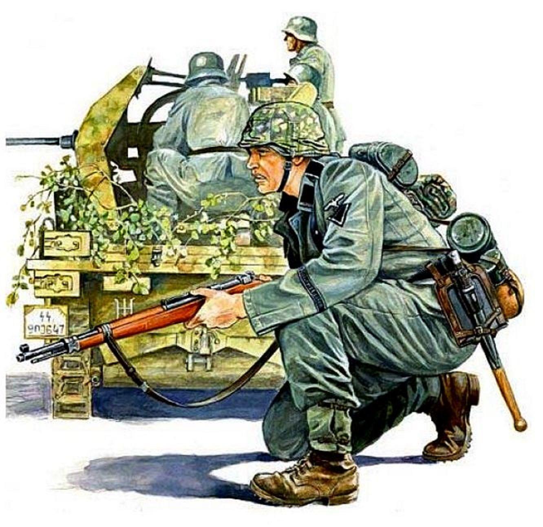 Day reenactment ww ii pictures pinterest - Art Illustration World War Ii