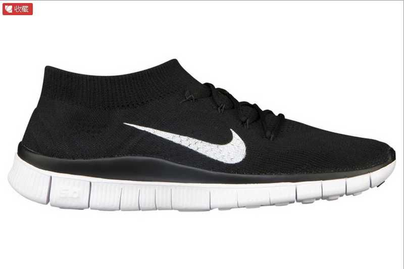 Nike Free 5.0 Flyknit Womens Black White - Black Friday  ca9223a59