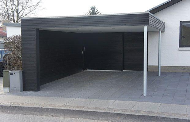 garage med carport