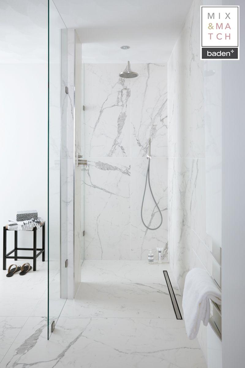 Badkamer Marmer Tegels.Hoe Gaaf Zijn Deze Marmeren Tegels In De Badkamer Het