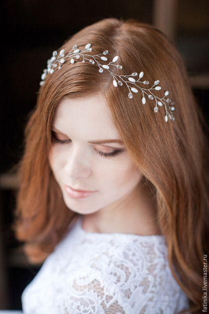Купить украшения для невесты на голову